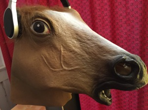 Feeling hoarse? Then don't speak, just listen.